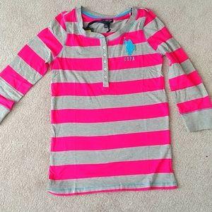 NWT Henley shirt size M